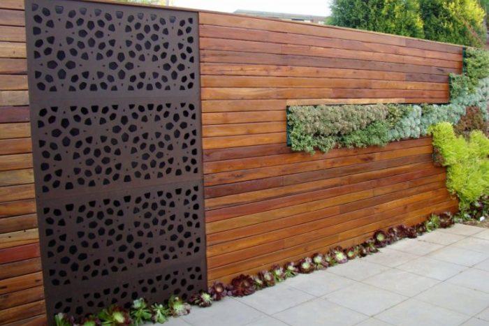 reformas exteriores vallas de madera