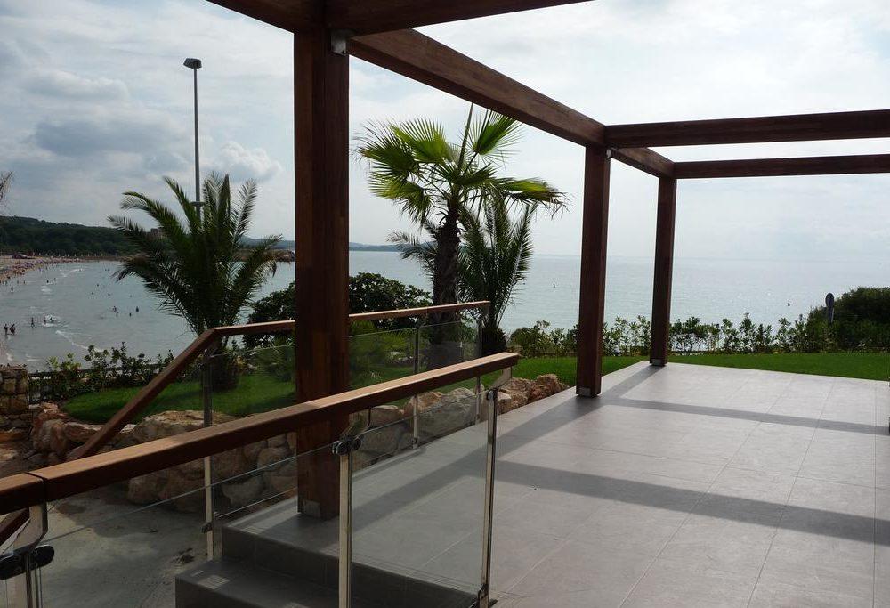 reforma terraza y suelo + madera