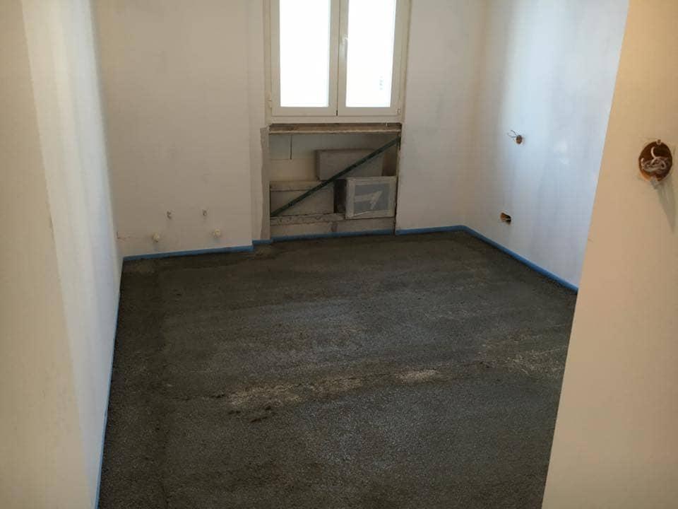 Reforma piso en Barcelona suelo cemento