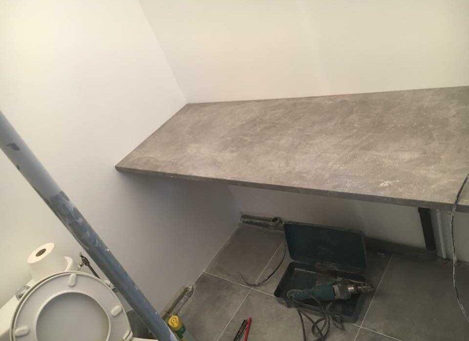 encimera para baño reformas piso en Barcelona