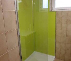 Plato de ducha mampara pequeña