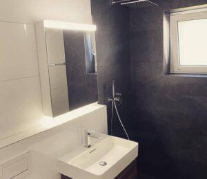 Reforma Plato de ducha mampara para ducha pequeña y nuevo lavado