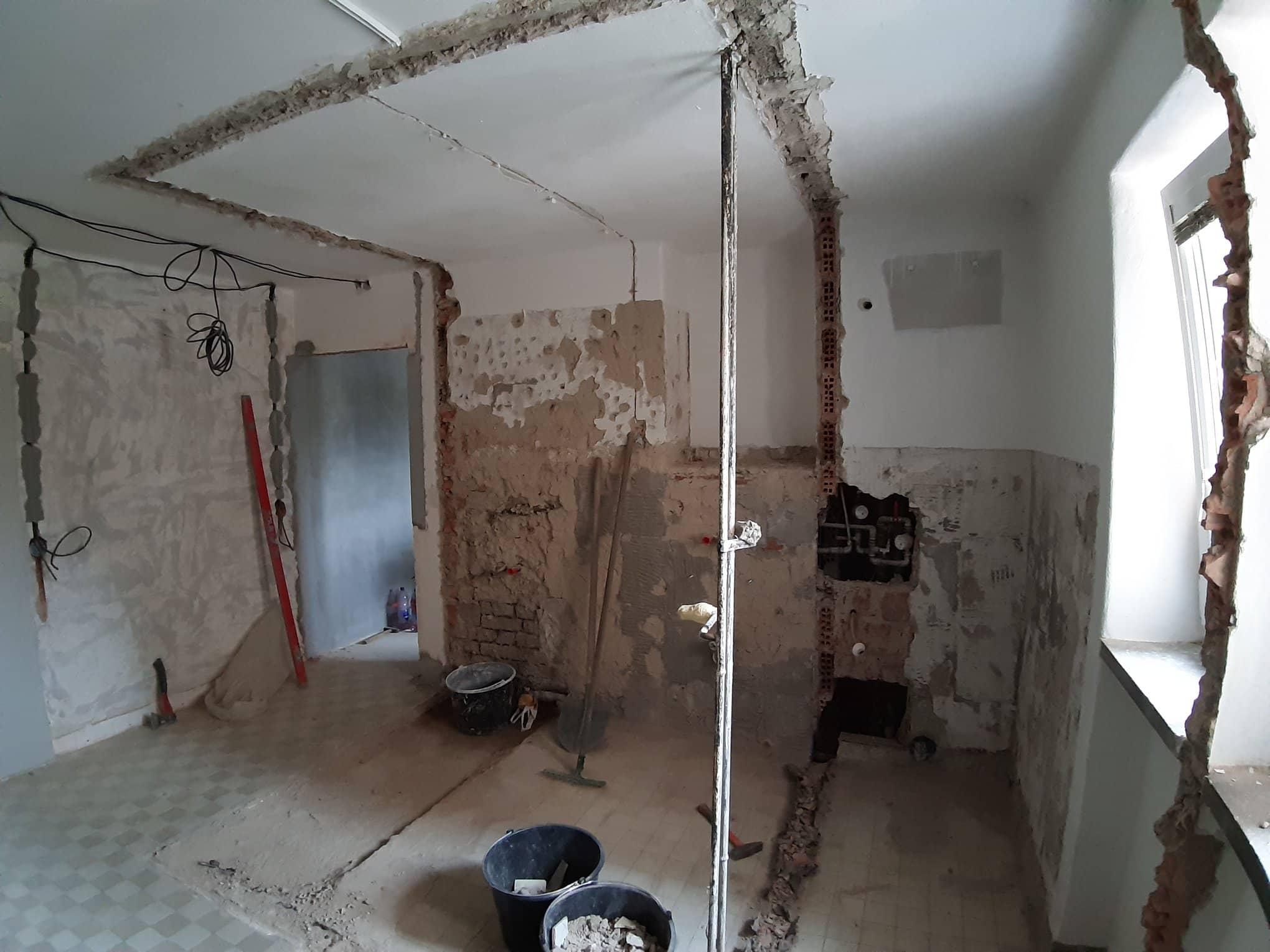 Reformas integrales derribos de paredes